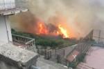 Inferno sui Nebrodi: a Naso case distrutte dalle fiamme e disabili salvati