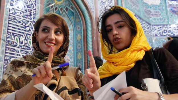 Iran, votazioni, Sicilia, Mondo
