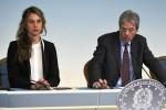 Il ministro Marianna Madia e il premier Paolo Gentiloni - Ansa