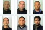 Arrestati prima della guerra di mafia Clan di Porta Nuova a Palermo: confermate 8 condanne - Nomi e foto