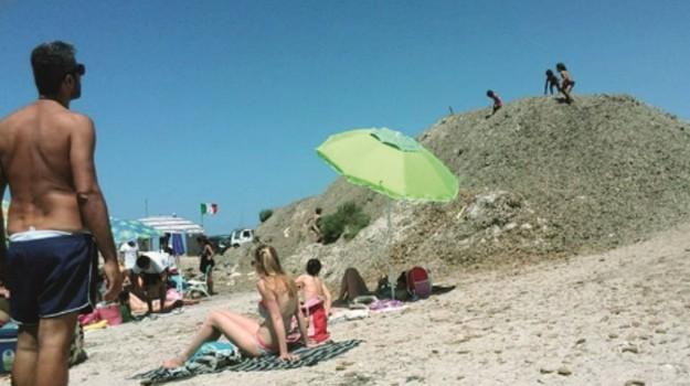 alghe, mare, spiaggia, Trapani, Cronaca
