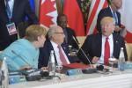 """Merkel dopo il G7: """"Di Trump non ci si può fidare"""""""