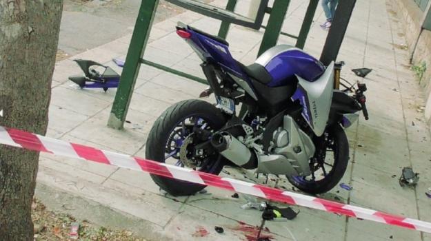 incidente, mondello, Moto, Fabrizio Ruffino, Palermo, Cronaca
