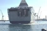 L'arrivo a Palermo della nave della legalità (Foto di Marco Gullà)
