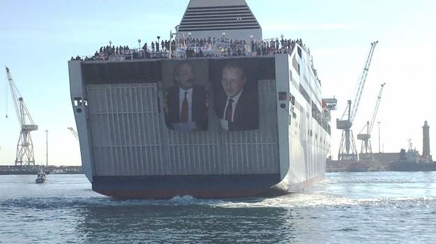 Anniversario Falcone 23 maggio, nave legalità, Palermo, Cronaca