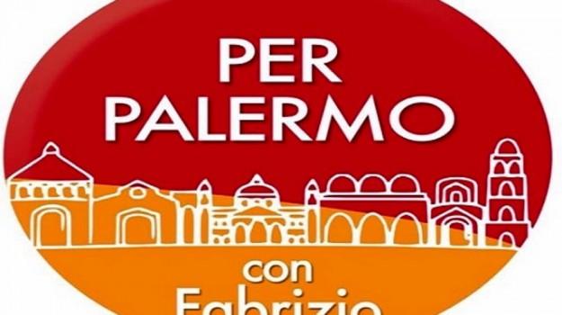 candidati al consiglio comunale di Palermo, Per Palermo con Fabrizio, Palermo, Politica