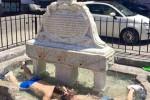 Fontana di piazza Garraffello: da monumento a... piscina