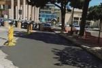Agrigento, piazza Vittorio Emanuele asfaltata