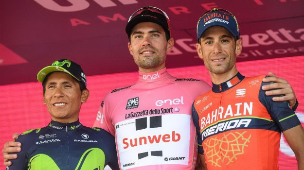 ciclismo, giro d'italia, Tom Dumoulin, Vincenzo Nibali, Sicilia, Sport