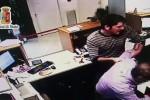 Tentata rapina in una banca, arrestati due giovani palermitani