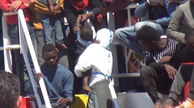 Migranti nel Palermitano, Palermo, Cronaca