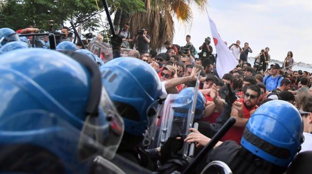 G7, scontri, sicurezza, summit, Sicilia, Cronaca
