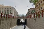 Un altro cantiere a Palermo, chiude il sottopasso del tribunale