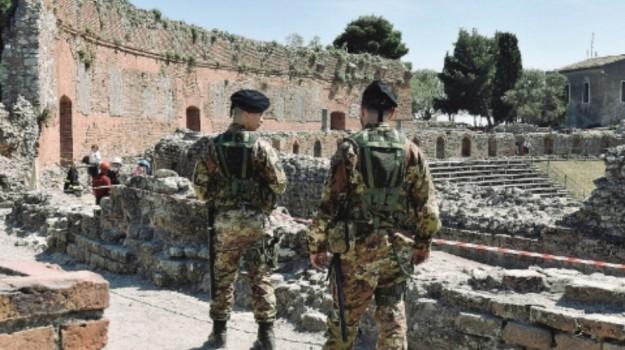 taormina, zona rossa, Messina, Cronaca