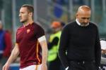 """Roma, Spalletti amaro: """"Io amico di Totti, non meritavo i fischi"""""""