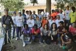 Volontari ripuliscono il Parco archeologico di Segesta