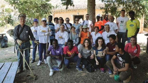 ambiente, parco segesta, rifiuti, volontariato, Trapani, Cultura