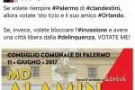 """""""Se votate Alamin avrete i clandestini"""": bufera su Vozza a Palermo"""