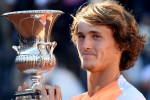 Internazionali, Zverev nuovo re a Roma: Djokovic si inchina
