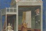 Giotto, L'annuncio ad Anna. Padova, Cappella degli Scrovegni