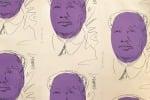 Aste: anche carta parati con Mao di Warhol