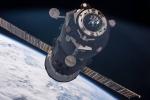 Il cargo russo Progress in arrivo alla Stazione Spaziale con i rifornimenti. Fonte: Nasa