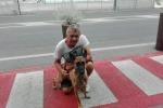 Dog Trekking 'sbarca' in porto Ancona