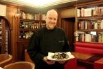 Lo chef Massimo Viglietti di Achilli al Parlamento (Roma)