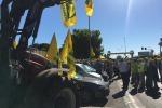 """Alimentare: protesta Coldiretti a Bari, """"è guerra del grano"""""""