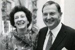 Peggy and David Rockefeller, May 1973. Photo: Arthur Lavine/Rockefeller Estate. Dal sito Christie's