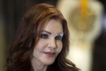 Priscilla Presley launches new items at Elvis Exhibition in London