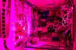 L'interno del labotorio europeo della Stazione Spaziale, Columbus, dove troveranno spazio gli Ice Cube (fonte: ESA/NASA)