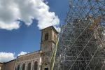 In sicurezza esterno Basilica Norcia