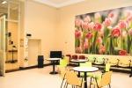 Un'area del reparto di oncologia dell'ospedale Molinette a Torino