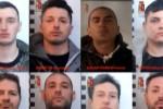 Rapine nel Palermitano e nel Messinese, 8 arresti