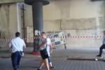Messina, precipitata da parcheggio a piani