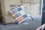 Colpita da cartellone a Messina, il punto