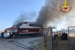 A fuoco l'aliscafo Masaccio, paura al porto di Milazzo - Foto