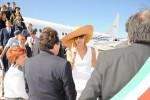 Reali d'Olanda a Palermo, l'accoglienza di Crocetta in aeroporto - Foto