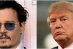"""Depp scherza su Trump: """"Quando è stata l'ultima volta che un attore ha ucciso un presidente?"""""""