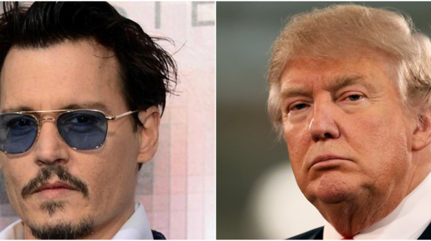 attore, presidente, Donald Trump, Johnny Depp, Sicilia, Società