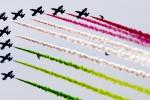 Le Frecce Tricolori tornano a Palermo dopo sette anni
