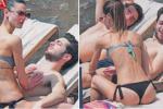 """Gianluca de """"Il Volo"""", amore sotto il sole a Taormina: le foto della vacanza con Martina"""