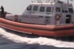 Salvataggio in mare, simulazione della Guardia Costiera
