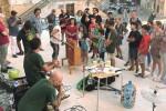 Strumenti musicali con materiali usati, esibizione ad Agrigento
