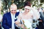 Anniversario per Zingaretti e la Ranieri: sui social la foto del matrimonio a Donnafugata