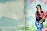 Opera della pittrice giapponese O'Tama Kiyohara. Allestita a Palermo una sua personale