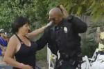 Poliziotto si lancia in un improvvisato ballo: il video