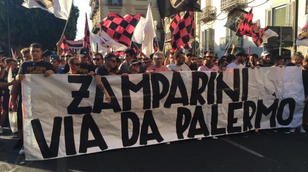 curva nord 12, palermo calcio, protesta tifosi palermo, Maurizio Zamparini, Palermo, Calcio