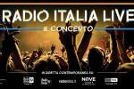 Radio Italia, il live a Milano e Palermo: t-shirt bianche contro il terrore